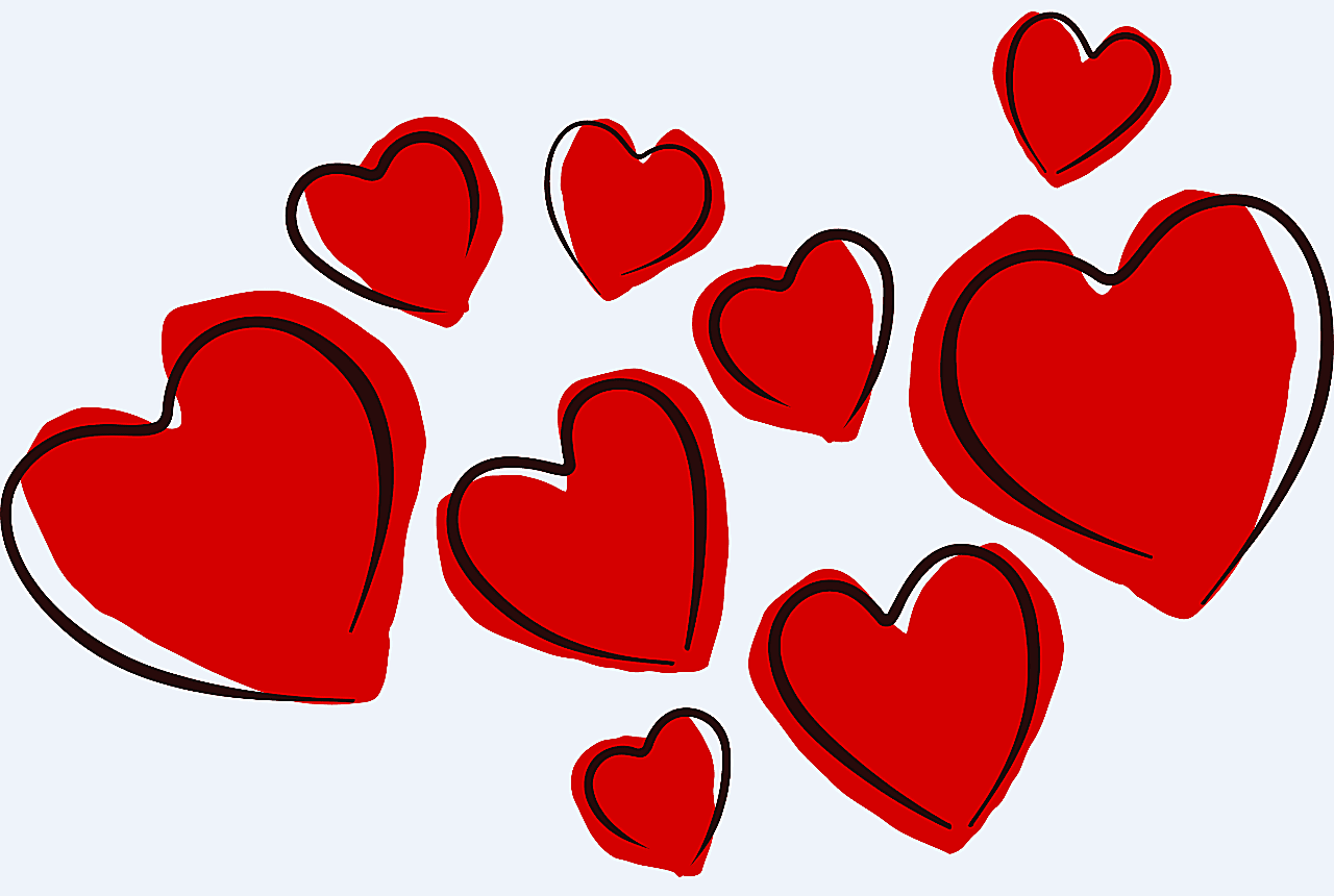 Hearts clipart school. Lots of free valentine