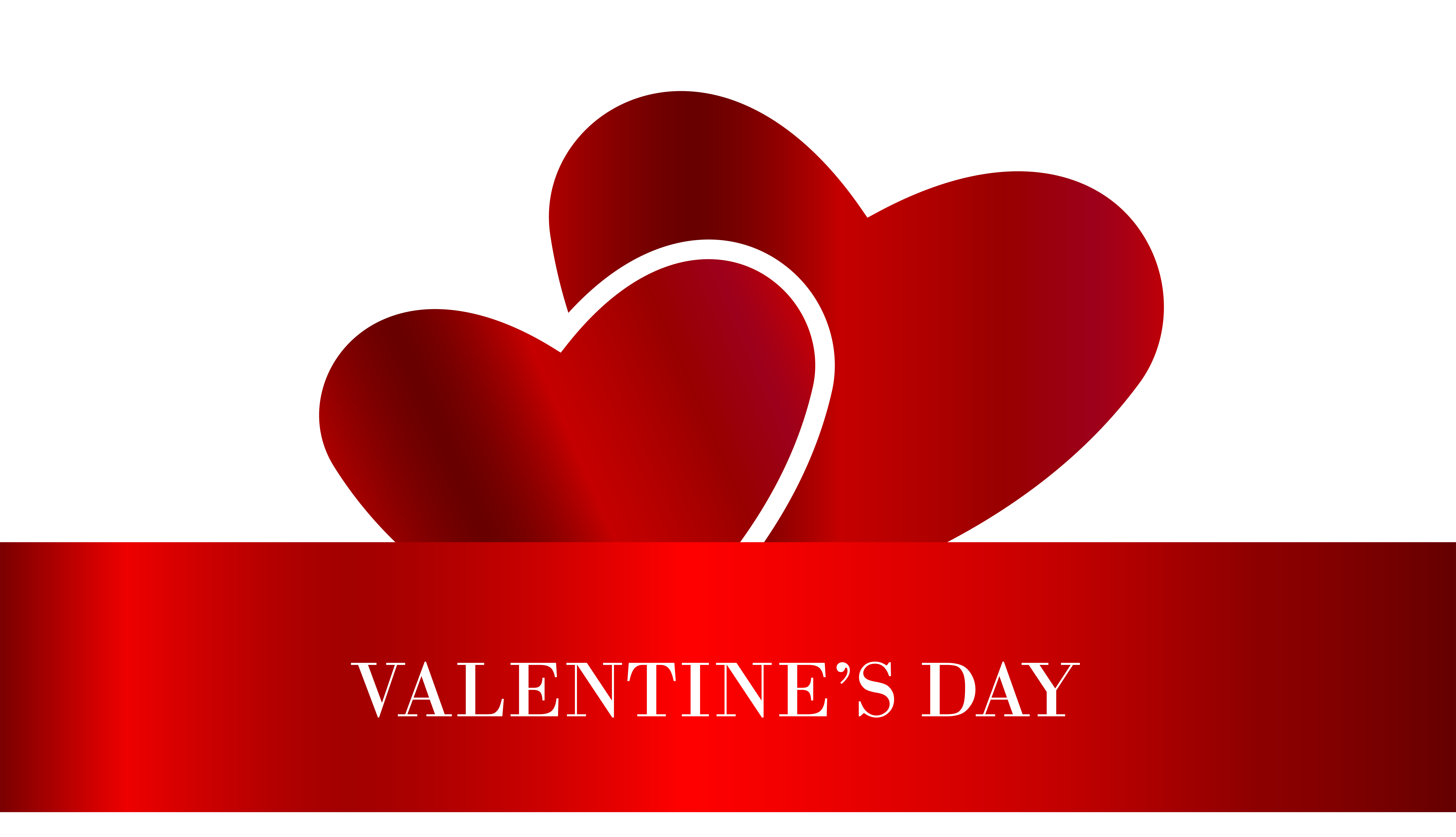 S day hearts transparent. Valentine clipart