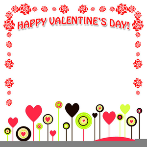 Day free images at. Valentine clipart borders