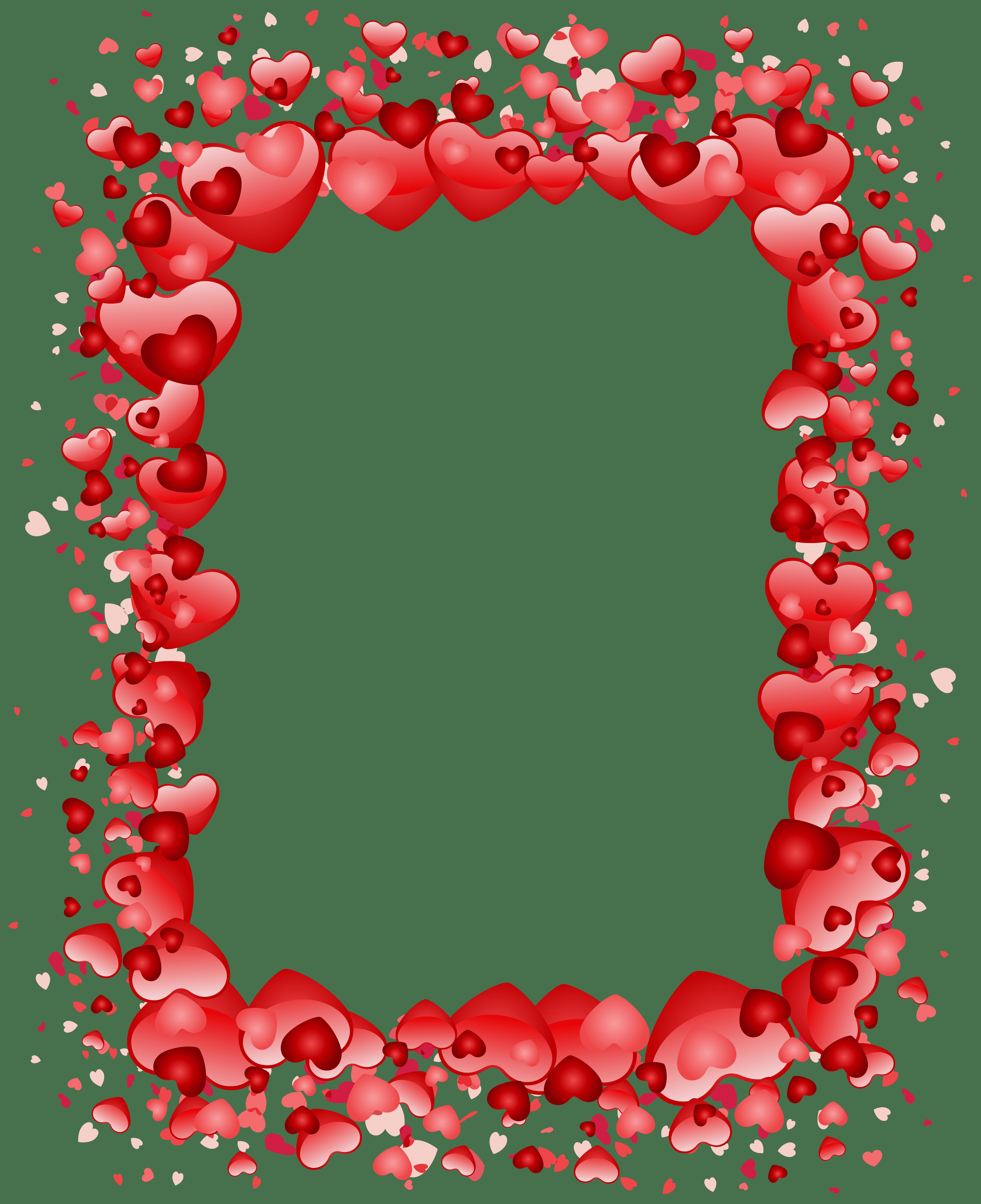 Valentine clipart box. Border clip art s