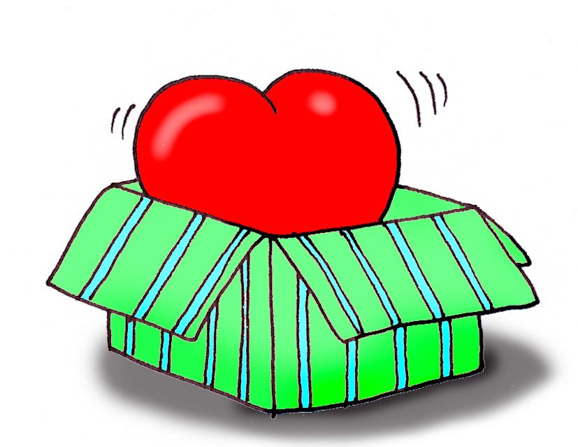 Valentine clipart box. Free valentines graphics