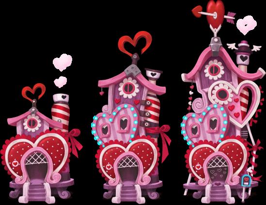 S happy street wiki. Valentine clipart house