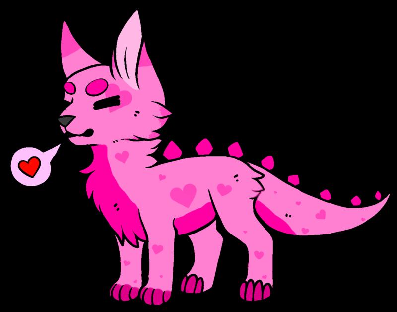 Dino cat s day. Valentine clipart kitty