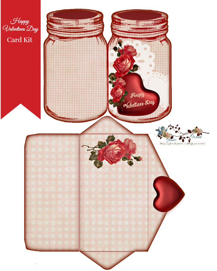 Free happy valentines day. Valentine clipart mason jar