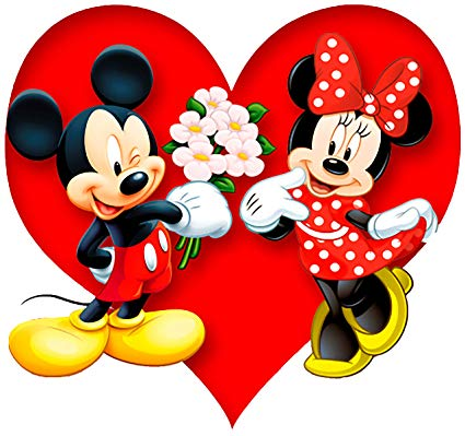 valentine clipart minnie mouse