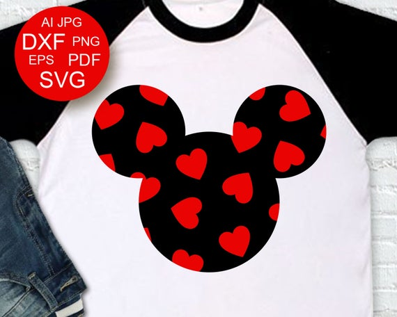 Valentine clipart shirt. S day decor mickey