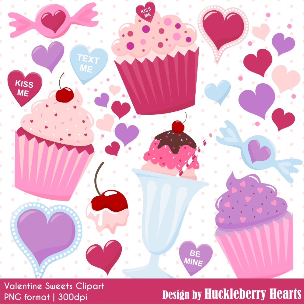 Sweets . Valentine clipart sweet