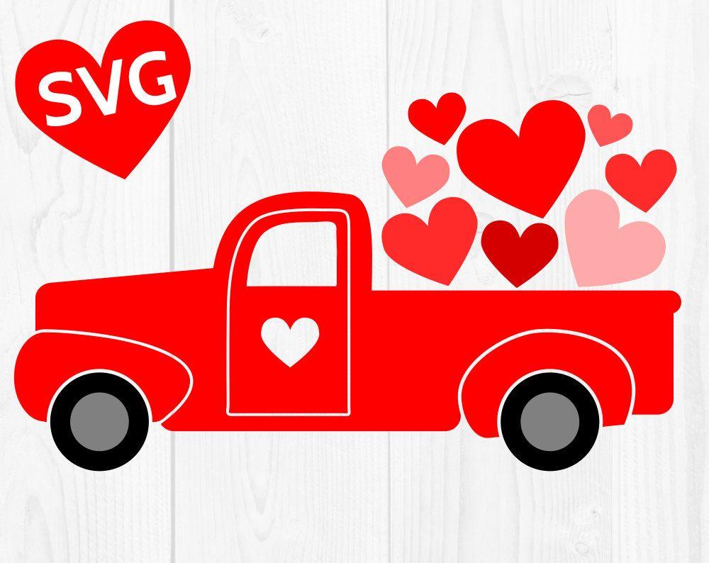 Pinterest . Valentine clipart truck