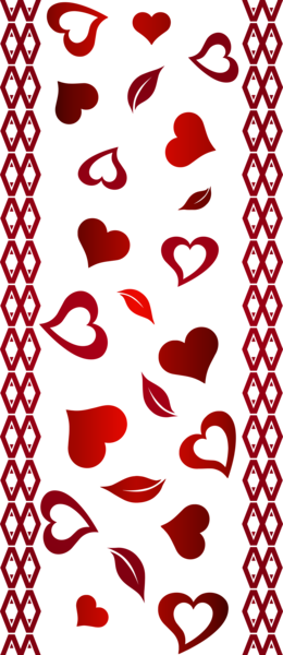 Valentine s transparent clip. Valentines day border png