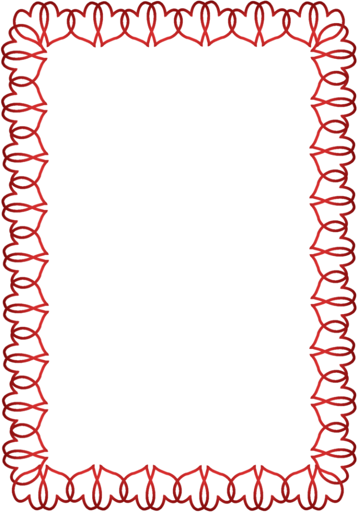 Valentines day border png. Photo peoplepng com
