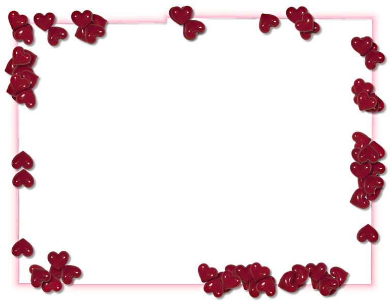 Valentines day frame png.  border for free
