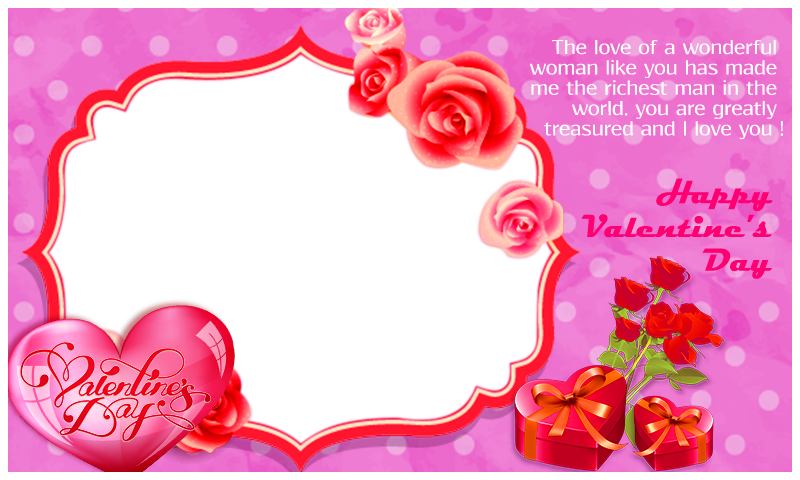 Pic arts. Valentines day frame png