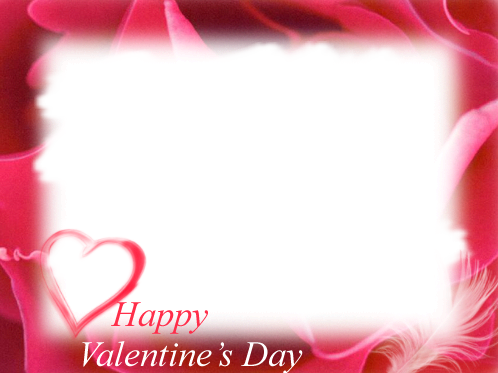 Valentines day frame png. Image