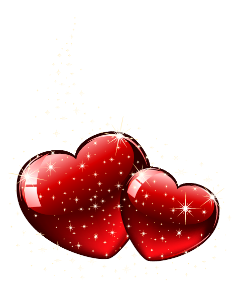 Valentine shining clipart picture. Valentines hearts png
