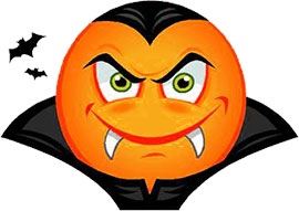 Vampire clipart. Free animated gifs smiley
