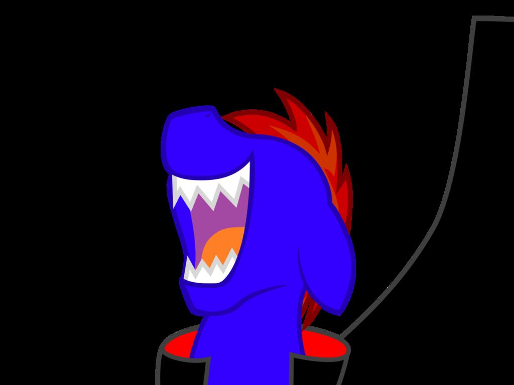 Rail spike laugh by. Vampire clipart evil