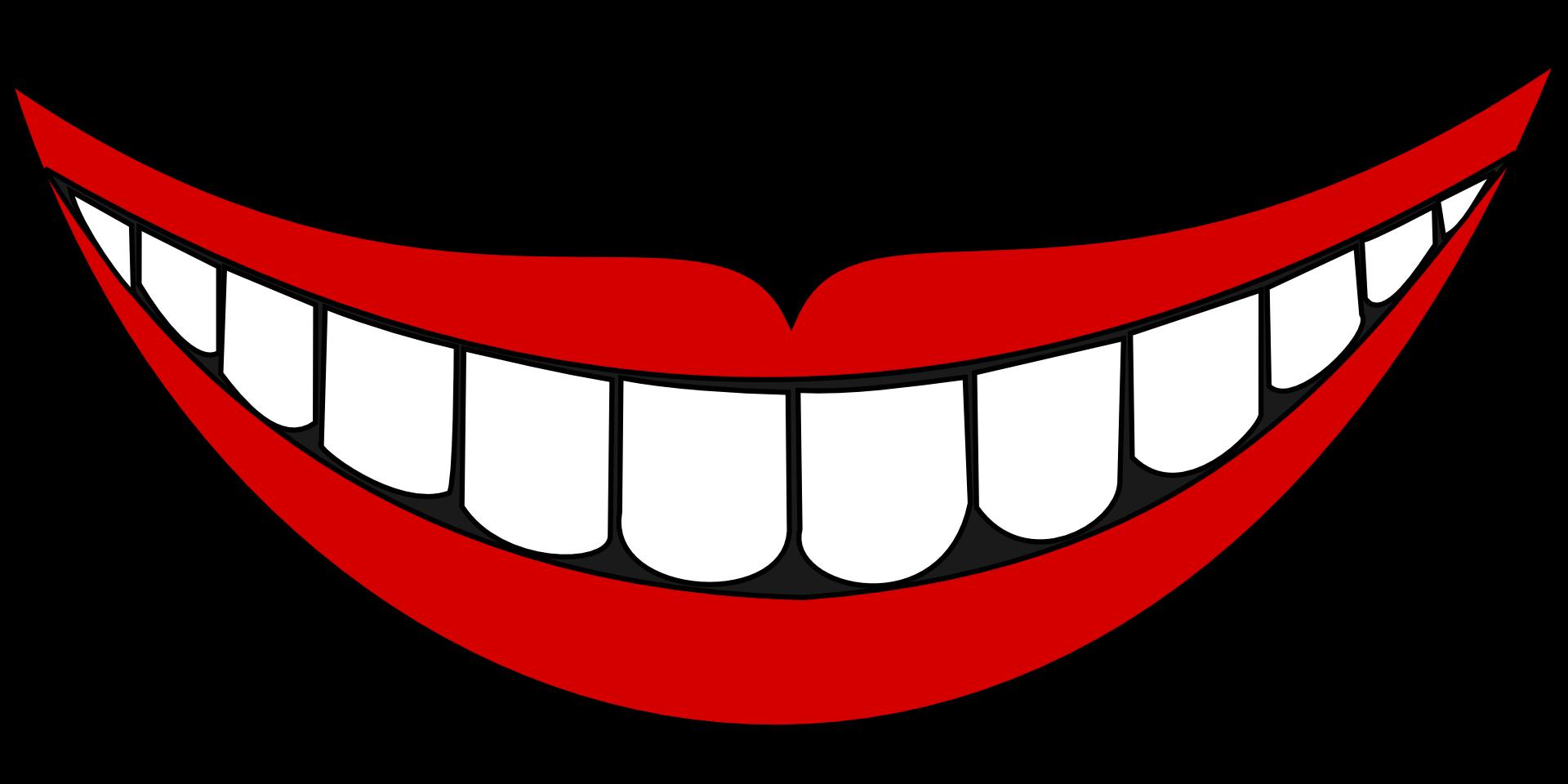 Smiling lips photo prop. Vampire clipart lip