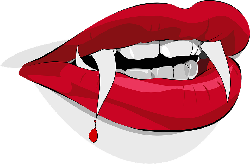 Vampire clipart vampire smile. Open mouth transparent png
