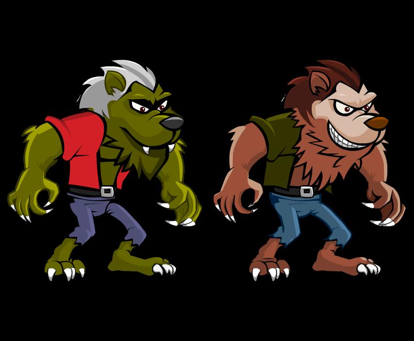 Vampire clipart werewolf. University ios endless runner