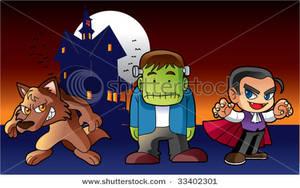 Clip art image a. Zombie clipart werewolf