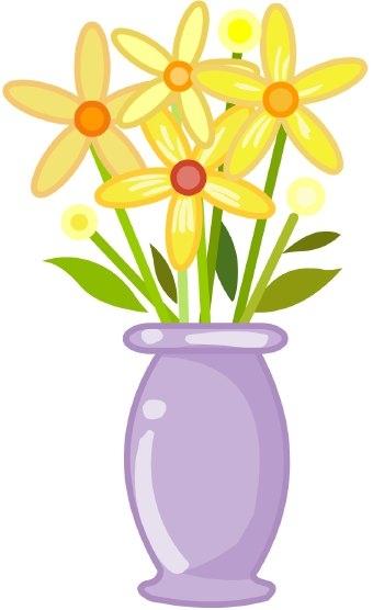 Vase clipart. Flower images clip art