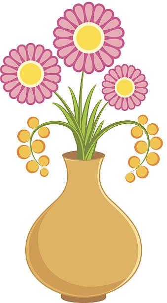 Flower station. Vase clipart