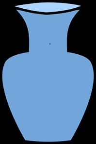 Vase clipart. Blue flower png svg