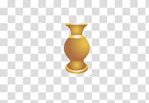 Vase clipart gold. Movables colored illustration transparent