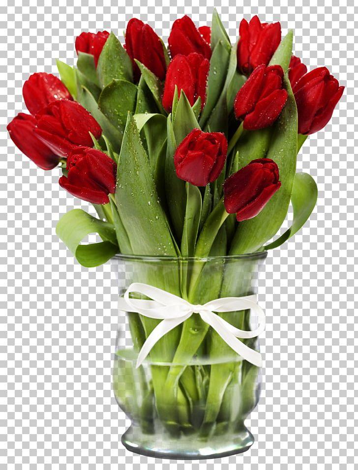 Vase clipart tulip png. Flower bouquet cut flowers