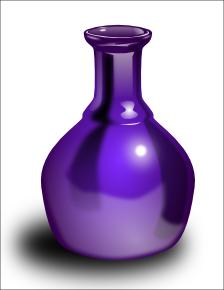 Free page of public. Vase clipart violet
