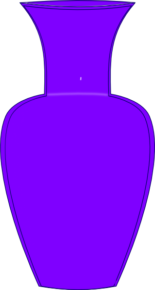 Vase clipart violet. Purple clip art at