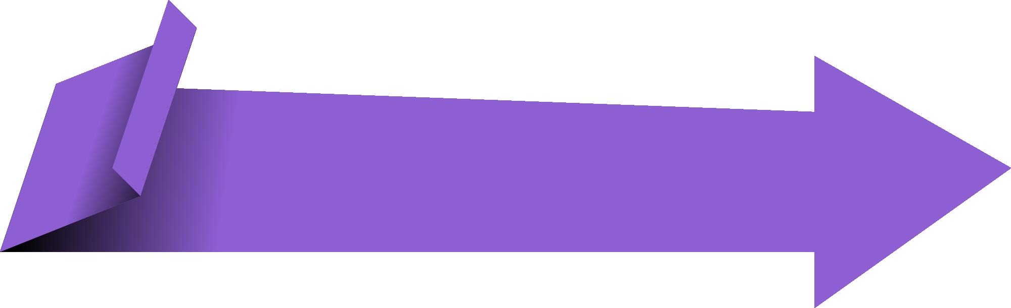 Vector banner png.  origami arrow transparent