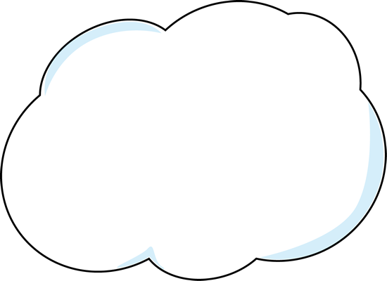 Collection of free clouding. Vector clouds png