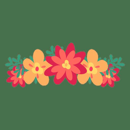 Vector flower png.  design for free