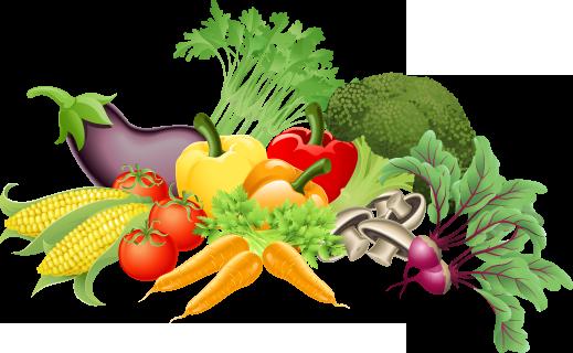 Clip art border free. Vegetable clipart