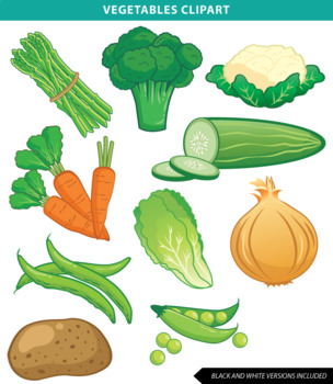 Vegetable by mr guera. Vegetables clipart