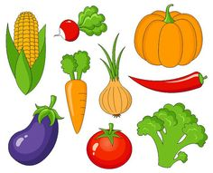 Vegetables clipart. Clip art free panda
