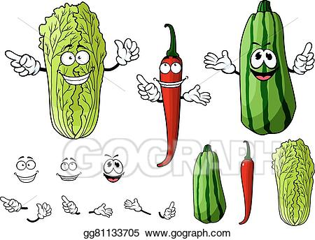 Vector stock chili pepper. Vegetables clipart mexican