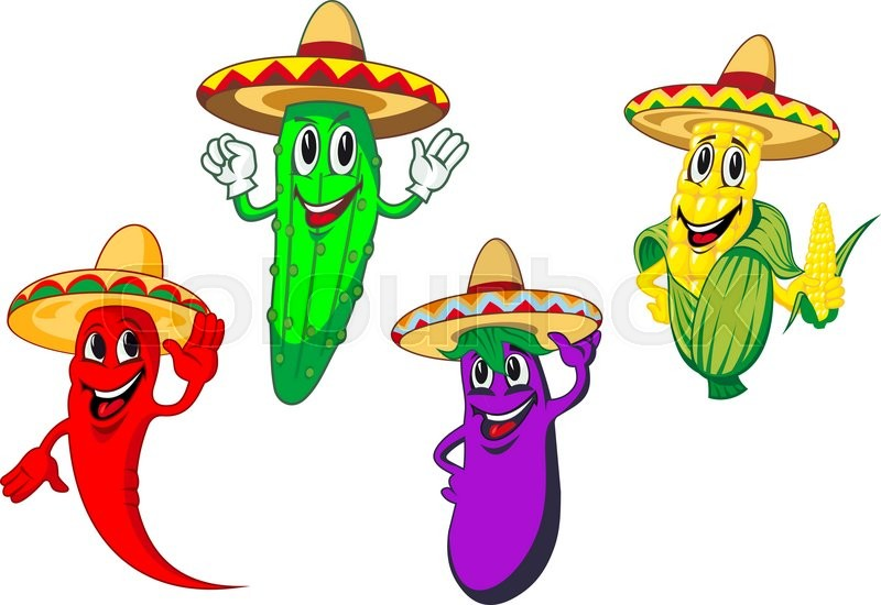 Vegetables clipart mexican. Download sombrero cuisine