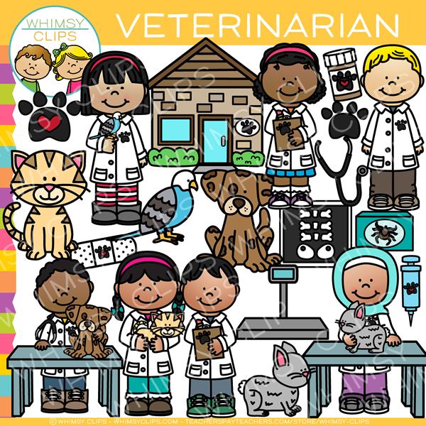 Veterinarian clipart. Kids clip art images