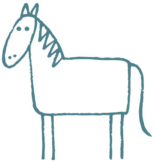 Enhance horses inner harmony. Veterinarian clipart horse