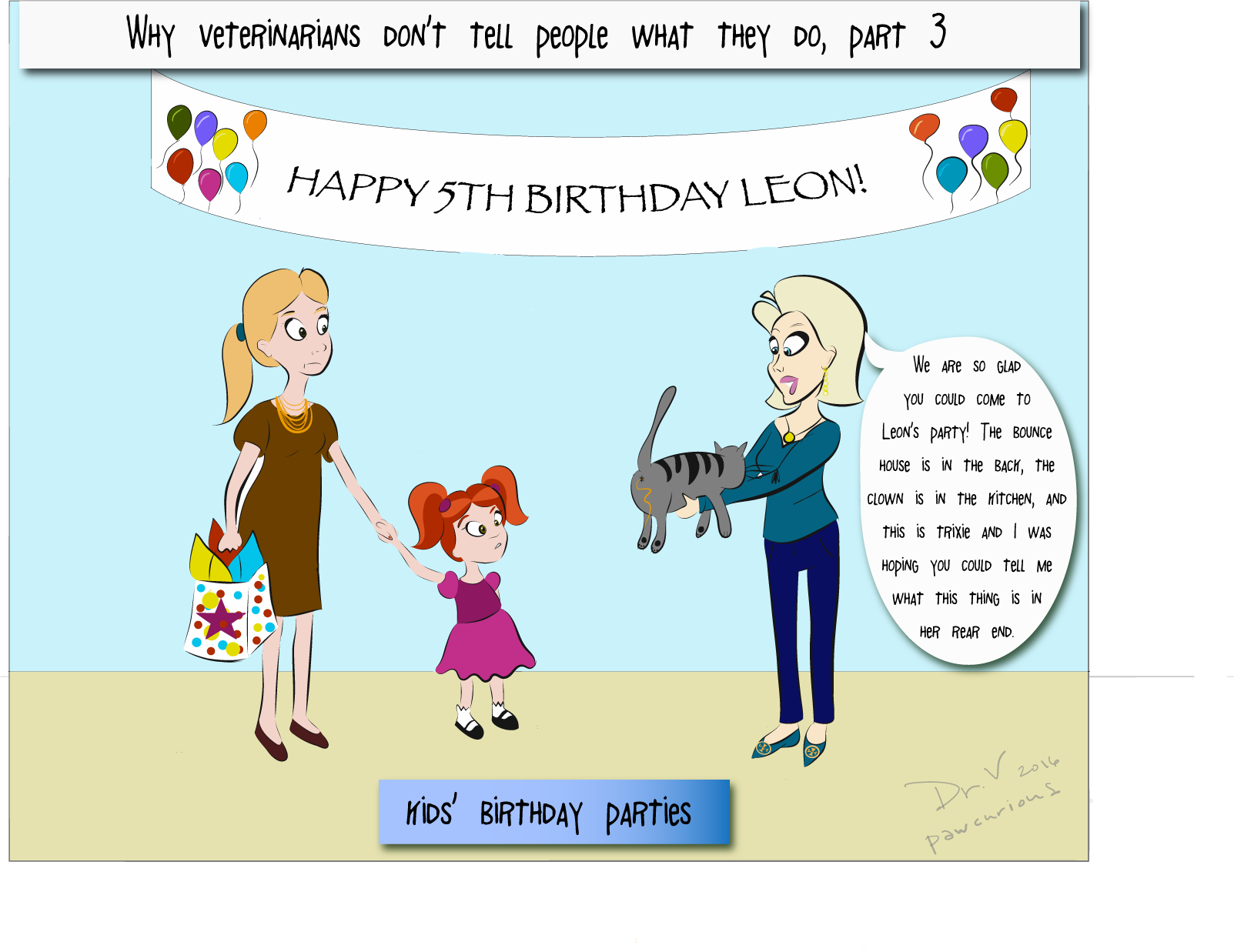Veterinarian clipart kid. Why i tell people