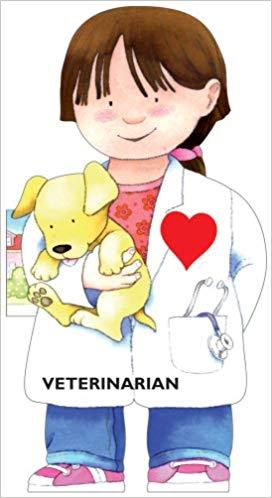 Little people shape books. Veterinarian clipart kid