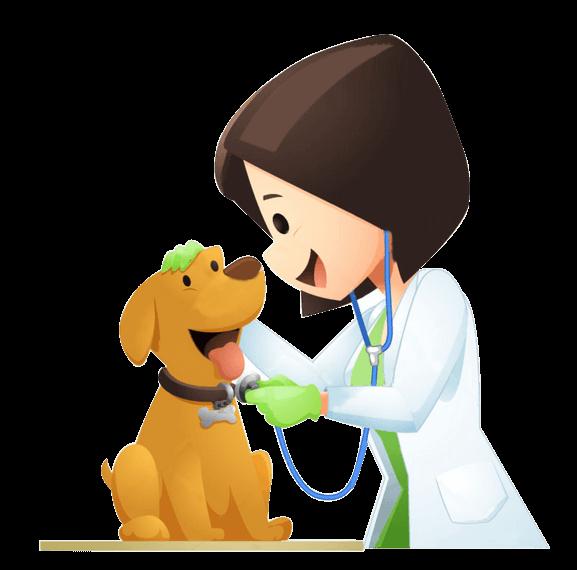 Pet vet clinic affordable. Veterinarian clipart person