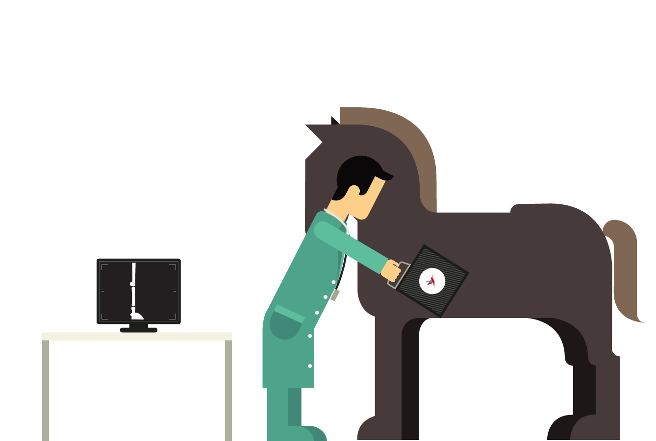 Veterinarian clipart person. Aria features horse simplified