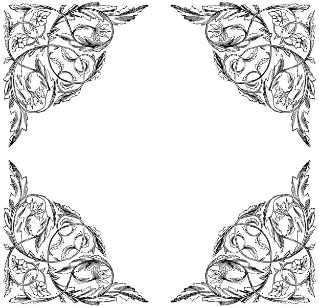 Frames and borders free. Victorian border png