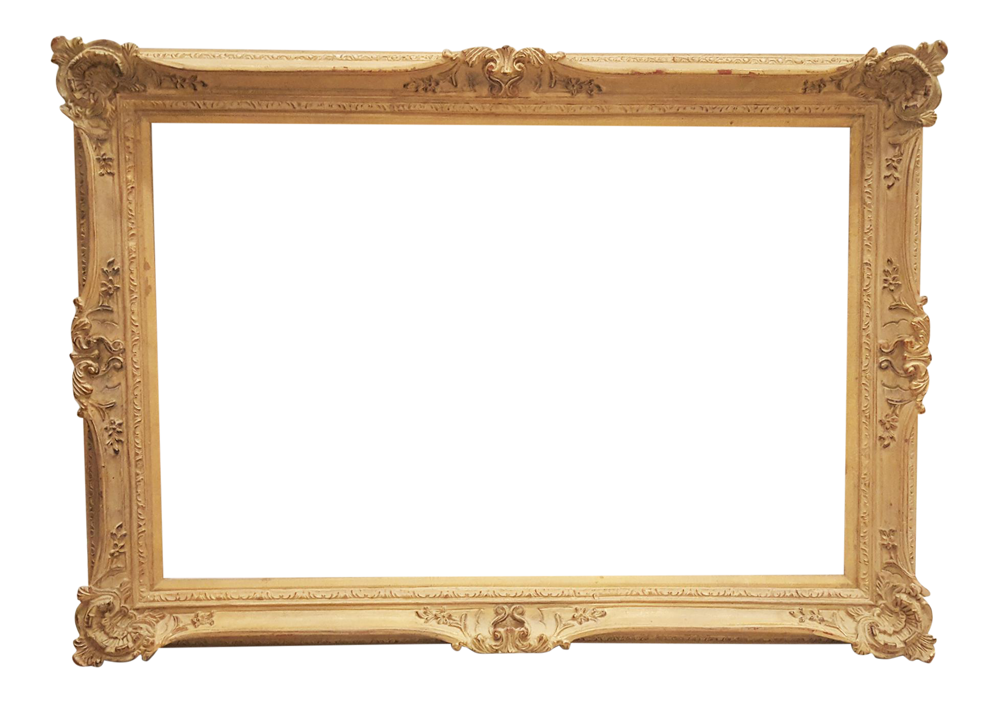 Antique wood chairish . Victorian frame png