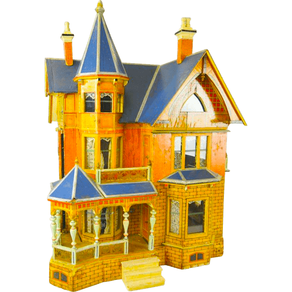 Style dollhouses dollhouse decorating. Victorian house png