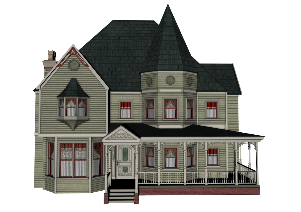 Architecture royalty free royaltyfree. Victorian house png