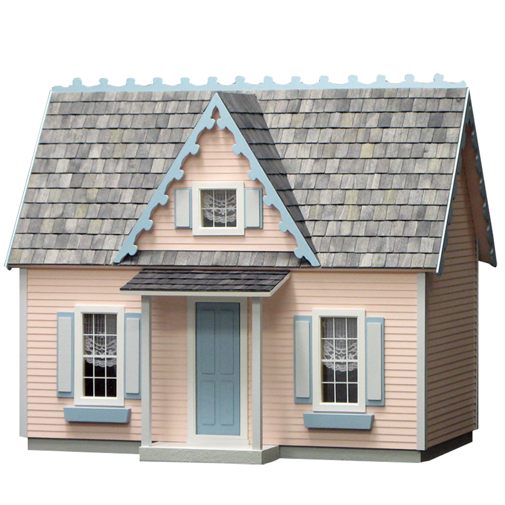 Victorian house png. Cottage jr dollhouse kit